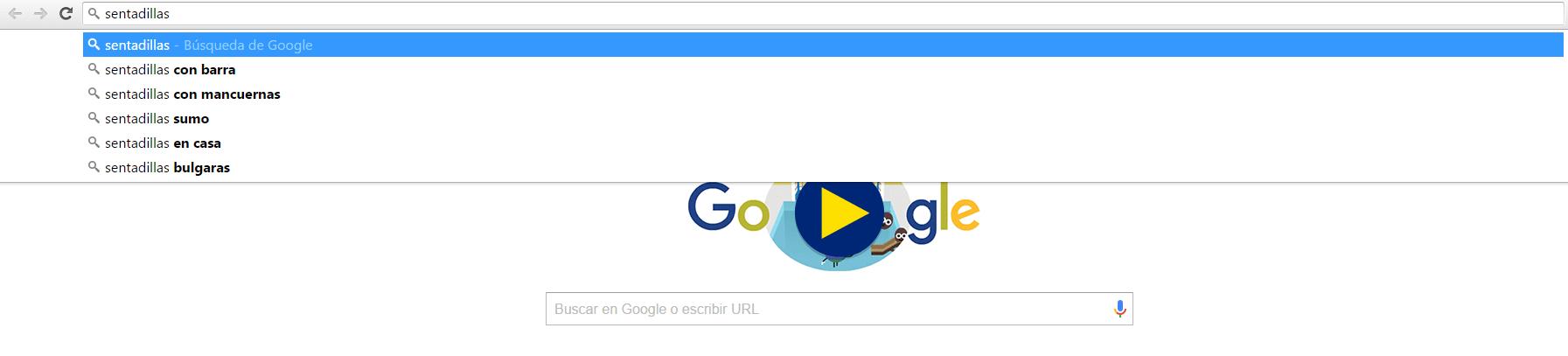 palabras clave autocompletado google