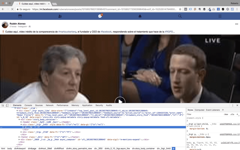 bajar vídeos de facebook