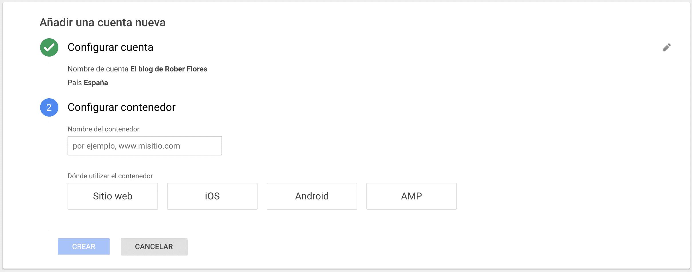 instalacion gestor de etiquetas de google